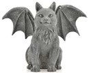 AzureGreen SC321 Winged Cat Gargoyle 6 1/2