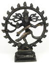 AzureGreen SS45A Antiqued Bronze Shiva Dancing 6
