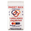 Three Ring Sweet Rice Sanpathong, 50 LBS