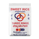 Three Ring Sweet Rice Sanpatong, 10 LBS, Case of 5