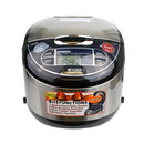 Tiger Micro Comp. Rice Cooker (JAX-T10U) K Stainless, 5.5 CUPS
