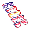 Aspire Flag Eyeglasses Kids Decoration Glasses Frame Patriotism Party