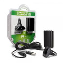 Stay N Play Controller Charge Kit for Xbox 360 (Black) - Tomee
