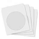 1000x Paper Sleeve with Clear Window (White)