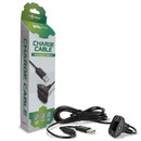Controller Charge Cable for Xbox 360 (Black) - Tomee