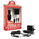 Universal Charge Kit for New 2DS XL/ New 3DS/ New 3DS XL/ 2DS/ 3DS XL/ 3DS/ DSi XL/ DSi/ DS Lite - Tomee