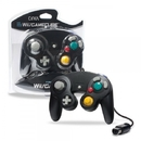Wired Controller for Wii/ GameCube (Black) - CirKa