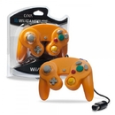 Wired Controller for Wii/ GameCube (Orange) - CirKa
