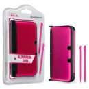 Aluminum Shell with 2 Stylus Pens for 3DS XL (Pink) - Hyperkin