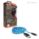 PS4/ X1/ PS Vita 2000 Micro USB Charge Cable (Blue/White) - Hyperkin Polygon