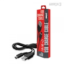 USB Charge Cable for New 2DS XL/ New 3DS/ New 3DS XL/ 2DS/ 3DS XL/ 3DS/ DSi XL/ DSi - Armor3