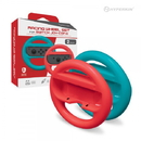 Racing Wheel Set for Switch Joy-Con (Blue/ Red) (2-Pack) - Hyperkin
