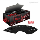 Universal VR Sanitary Mask V2.0 for HTC Vive/ PS VR/ Gear VR/ Oculus Rift (Black) (100-Pack) - Hyperkin