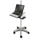 Ziotek Aluminum Mobile Notebook Workstation Cart ZT1110389