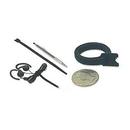 VELCRO Brand Mini  Wrap 1/4in. X 8in. Black 25 Pack 159011