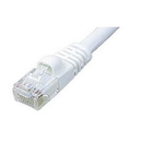 Ziotek 25ft CAT5e Network Patch Cable w/Boot, White ZT1195194