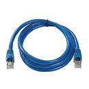 Ziotek 7ft Cat6a STP Patch Cable with Boot, Blue ZT1197246