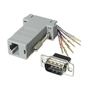 Ziotek Modular Adapter DB9 M to RJ45 ZT1312050