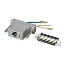Ziotek Modular Adapter DB25 F to RJ45 ZT1312060