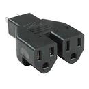Generic 1410106 Power Adapter NEMA 5-15P to 2-5-15R