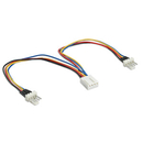 Generic 1480096 PWM Fan 4 Pin Y Cable, 6in. 1F to 2M