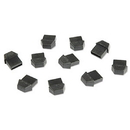 Generic 1800119 USB Type A Protective Jack Cover 10 Pack
