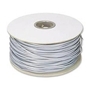 Ziotek 1000ft. Telephone RJ11 (RJ12)  6-Wire Bulk Cable, Silver Satin ZT1800490