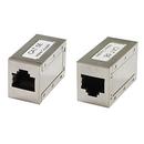 Ziotek CAT5e Inline Coupler Shielded ZT1800515