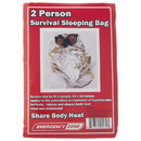 Emergency Zone 1202 2 Person Survival Reflective Sleeping Bag