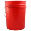 Emergency Zone Red 5 Gallon Bucket