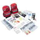 Emergency Zone 861-4PROMO Family Prep Survival Kit with Water Purification Straw Filter - 4 Person