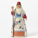 Enesco 4041069 Greek Santa
