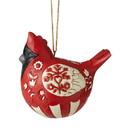 Enesco 6006627 Nordic Noel Cardinal Ornament