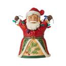 Enesco 6006655 Pint Sized Santa with Lights