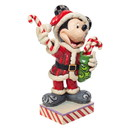 Enesco 6007068 Santa Mickey w/Candy Canes
