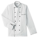 Five Star 18120 Executive Chef Jacket with Black Trim