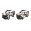 Kingston Brass ABT136-1 L Shaped Modified Swing Arms for CC458T1 Series, Polished Chrome