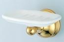Kingston Brass BA1165PB Wall Mount Soap Dish, Polished Brass