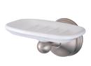 Kingston Brass BA1165SN Wall Mount Soap Dish, Satin Nickel
