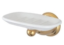 Kingston Brass BA1755PB Wall Mount Soap Dish, Polished Brass
