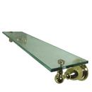 Kingston Brass BA1759PB Glass Shelf, Polished Brass