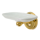 Kingston Brass BA315PB Wall Mount Soap Dish, Polished Brass