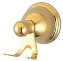 Kingston Brass BA3967PB Robe Hook, Polished Brass