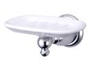 Kingston Brass BA7975C Wall Mount Soap Dish, Chrome