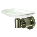 Kingston Brass BA8215SN Wall Mount Soap Dish, Satin Nickel