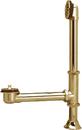 Kingston Brass CC2082 Clawfoot Tub Waste and Overflow Drain, Polished Brass
