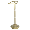 Kingston Brass CC2102 Pedestal Toilet Paper Holder, Polished Brass