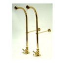 Elements of Design DS452MX Freestanding Water Supplies with Stop, Polished Brass