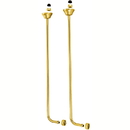 Elements of Design DS462 Single Offset Bath Supplies, Polished Brass
