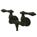 Elements of Design DT0315AL Wall Mount Clawfoot Tub Filler, Oil Rubbed Bronze